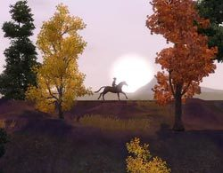 Прогулки на лошадях в Симс 3 Питомцы