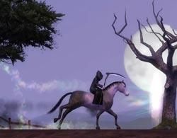 Смерть на коне в Симс 3 Питомцы