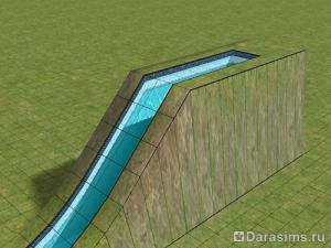 Водные горки в The Sims 2