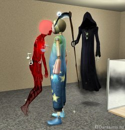 Промахнулась косой [The Sims 3]