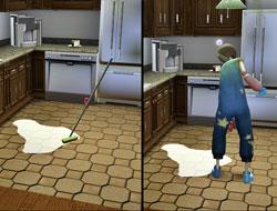 Швабра vs Воображаемый друг [The Sims 3]