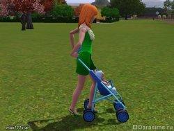 Неудобная коляска [The Sims 3]