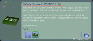 Изменение высоты и наклона объектов в Симс 2 с помощью OMSP