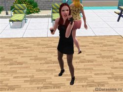 Что-то в носу застряло [The Sims 3]