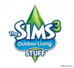 Логотип Симс 3 Отдых на природе (The Sims 3 Living Outdoor Stuff)