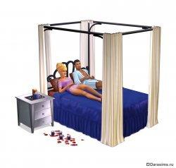 Симс 3 Изысканная спальня (The Sims 3 Master Suite Stuff)