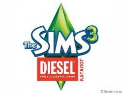 Логотип The Sims 3 Diesel