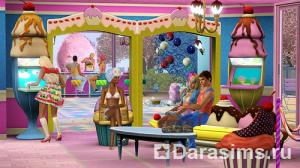 Новые заведения в «The Sims 3 Кэти Перри Сладкие радости»