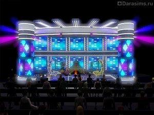 Карьера акробата в «Симс 3 Шоу-бизнес»