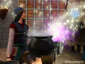 Герой Маг в Симс Средневековье