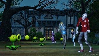 Зомби в Симс 3 Сверхъестественное