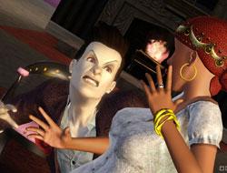 Гадалка и вампир в Симс 3 Сверхъестественное