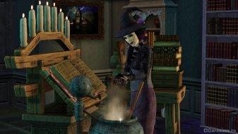 Ведьма в Симс 3 Сверхъестественное