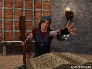 Магия, заклинания и руны в «Симс Средневековье»