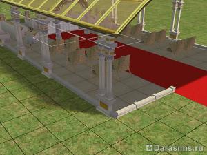 Строительство свадебного павильона в Симс 2