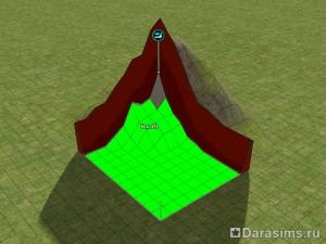Строительство домика в горах в Симс 2