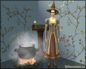 Ведьмы и волшебники в «Симс 2: Переезд в квартиру»