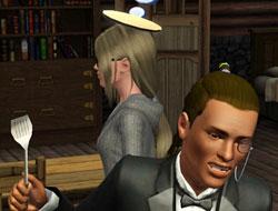 Блин на голову заказывали? [The Sims 3]