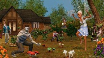 Мозги, семена и эльфы в The Sims 3 Supernatural