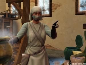 Герой Лекарь в «Симс Средневековье»