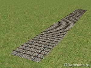 Строительство поезда в The Sims 2
