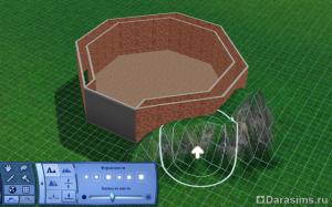 Строительство грота в Симс 3