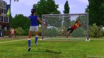 Футбол в The Sims 3 Seasons