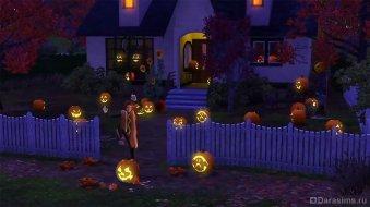 Хеллоуин в The Sims 3 Seasons
