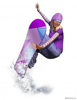 Рендер в The Sims 3 Seasons