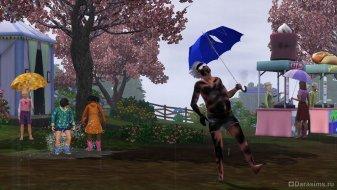 Дожди в The Sims 3 Seasons