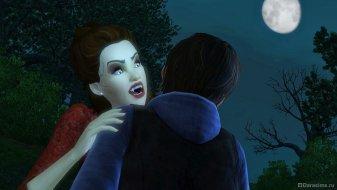 Вампиры в Симс 3 Сверхъестественное