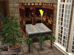 Необычное размещение и комбинирование объектов в Симс 2