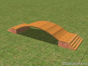 Мостик через бассейн в The Sims 2