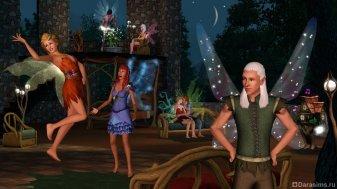 Эльфы и феи в Симс 3 Сверхъестественное