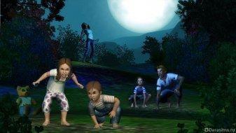 Дети-оборотни в Симс 3 Сверхъестественное