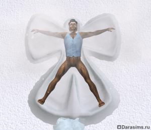 Снежный человек в «The Sims 2 Bon Voyage»