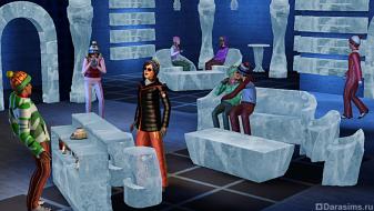 Бар «Ледяная ложа» из Симс 3 Времена Года