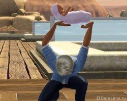 Папаша-фокусник? [The Sims 2]