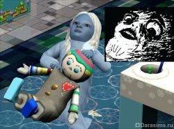 Девочка-мем [The Sims 3]