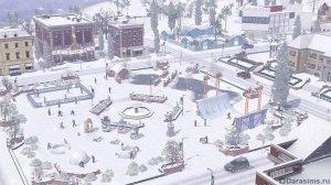 Зима в «Симс 3 Времена года»