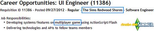 Какую многопользовательскую игру Симс нам ждать от ЕА?
