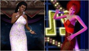 Карьера певца в «Симс 3 Шоу-Бизнес»