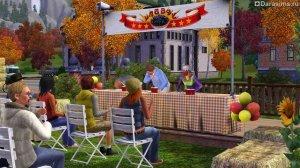 Осенний фестиваль в «Симс 3 Времена года»