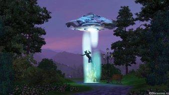 Похищение пришельцами в «Симс 3 Времена года»