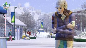 Зима в The Sims 3 Seasons
