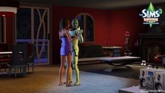 Медленный танец в The Sims 3 Seasons