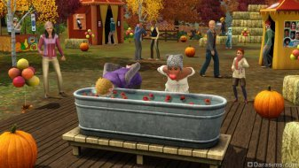 Осенний фестиваль в «The Sims 3 Времена года»