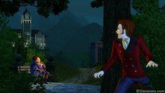 Вампир в «The Sims 3 Времена года»