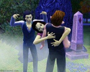 Зомби в «Симс 3 Сверхъестественное»