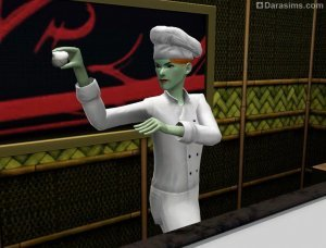«Итадакимасу! Обед в японском стиле» в The Sims 3 Store
